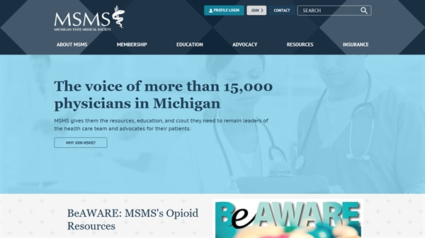 MSMS.org launches enhanced, user-friendly website