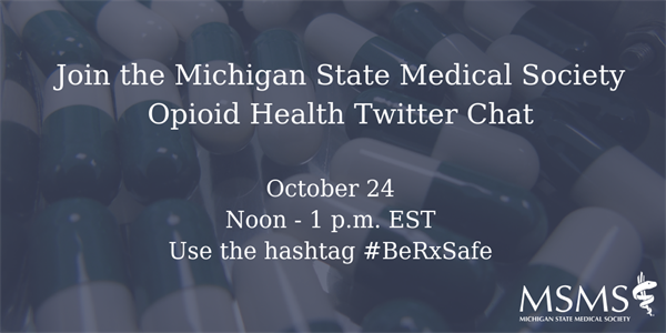 MSMS Hosts Opioid Twitter Chat