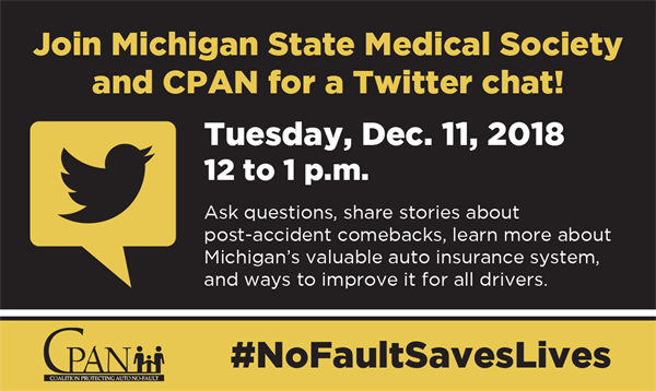 MSMS hosts Auto No-Fault Twitter Chat