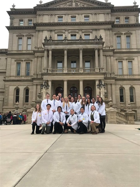 MSMS's Medical Student Section Holds Lobby Day