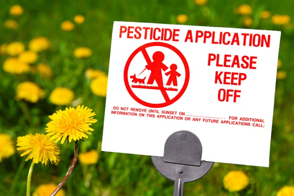 Pesticide Poisoning is a Reportable Condition